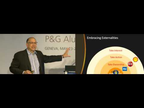 World of Choosing - Choices Facing Capitalism - Chris Meyer - 2013 P&G Alumni Conference