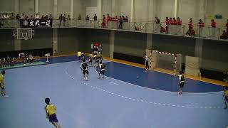 第41回全国高校ハンドボール選抜大会 1回戦 那賀vs仙台第二⑥