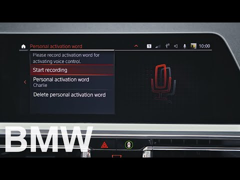 How to change the personal activation word of your BMW Intelligent Personal Assistant – BMW How-To