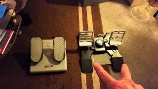 Ch pro pedals vs Saitek Combat pedals