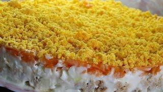 Самый простой рецепт мимоза салат