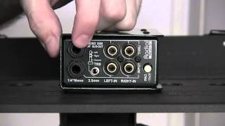 Radial Engineering ProAV1 & 2 Multimedia Direct Boxes review and user guide