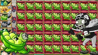 Power UP Sling Peashooter Plants vs Zombies 2 Gameplay Sling Pea Challenge with Power UP