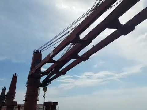 How to bypass hoisting and luffing limit switches on Mac Gregor Cranes