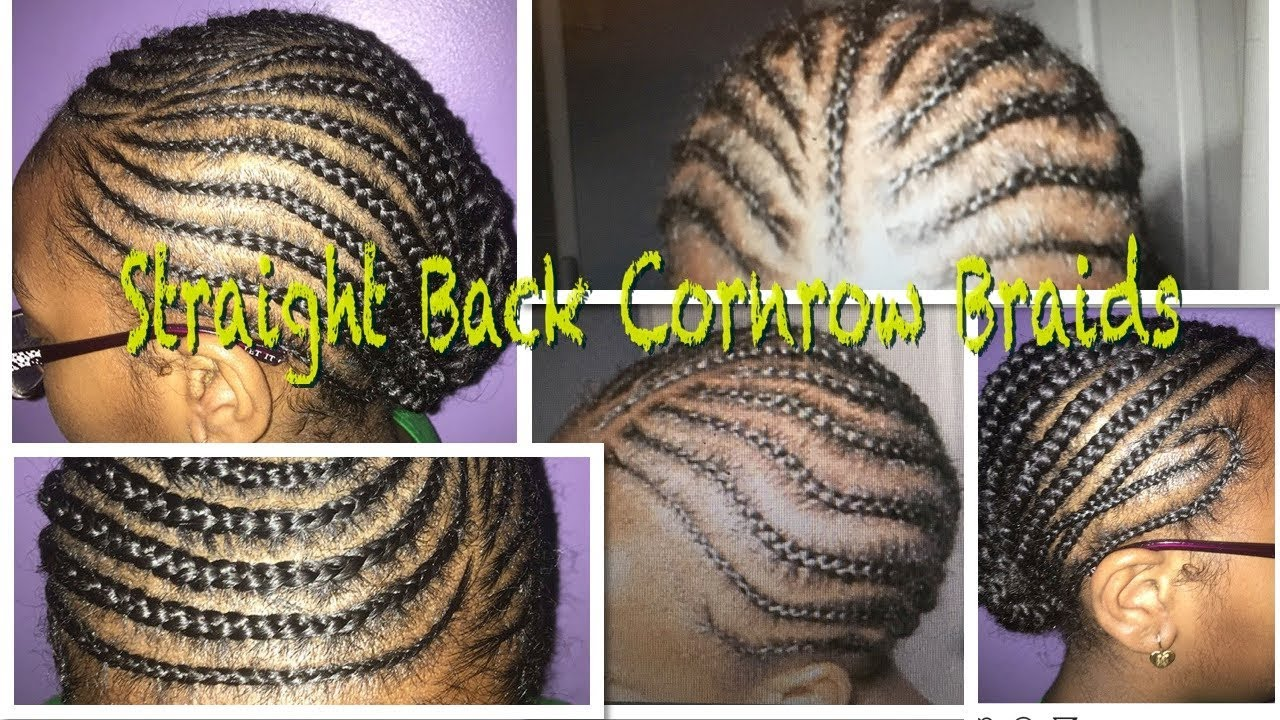 Straight Back Cornrow Braids