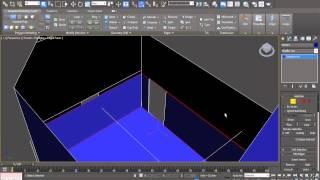 3ds Max 2012 Ders 64 Dağ Evi Yapıyoruz - Modelleme Bölüm 2