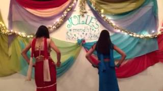 Mehndi hai Rachne Wali dance by Komal and Sheetal