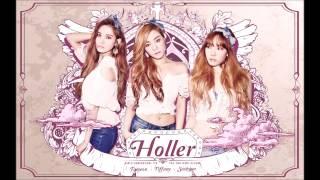 tts 태티서 snsd only u 온리 유 the 2nd mini album holler