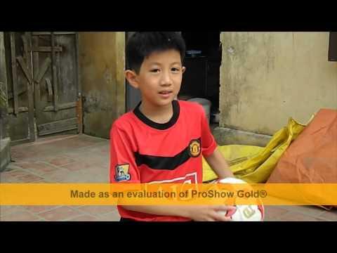 Cầu thủ tí hon 2013_Nguyễn Doãn Hải Tùng