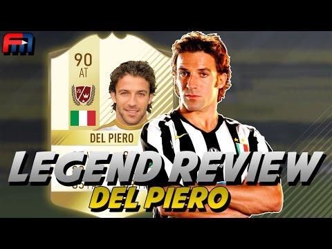 FUT17 | ALESSANDRO DEL PIERO (90) - LEGEND REVIEW