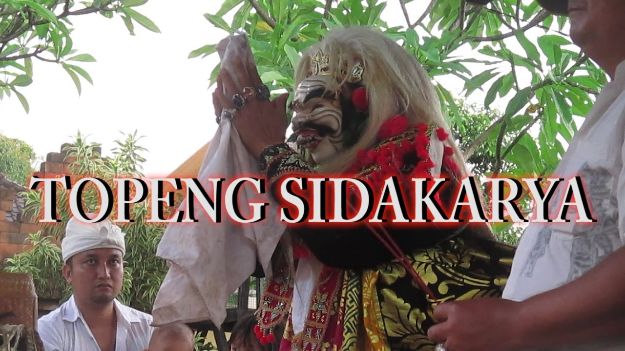 Balinese Traditional Dance Topeng Sidakarya Youtube