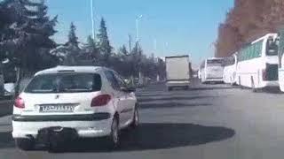 واکنش مردم خوی به سفر حسن روحانی رئیس جمهور اسلامی ایران