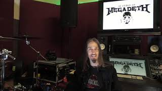 Megadeth - Dirk Verbeuren's Favorite Megadeth Song to Play
