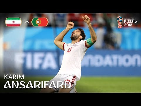Karim ANSARIFARD Goal - IR Iran v Portugal - MATCH 35