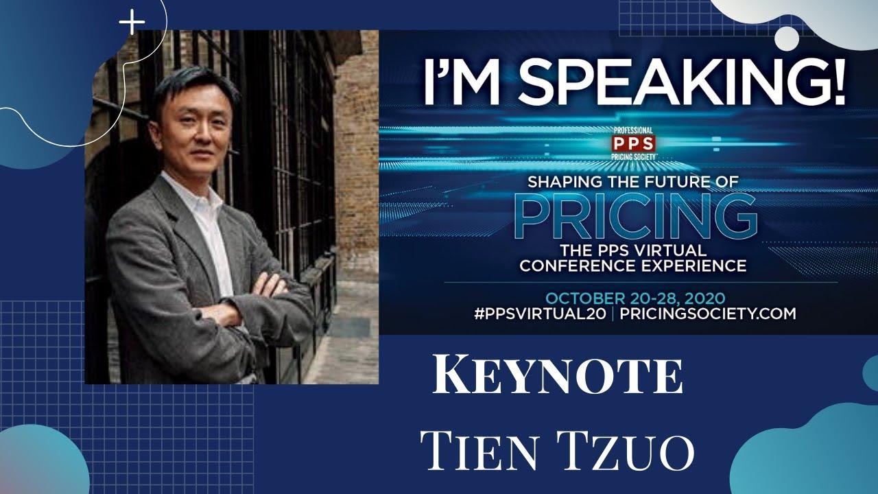 Tien Tzuo: Keynote Presenter During #PPSVirtual20