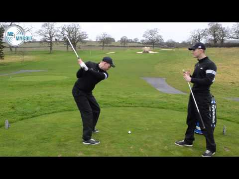 GOLF POSTURE DRILL FOR PURE CONTACT