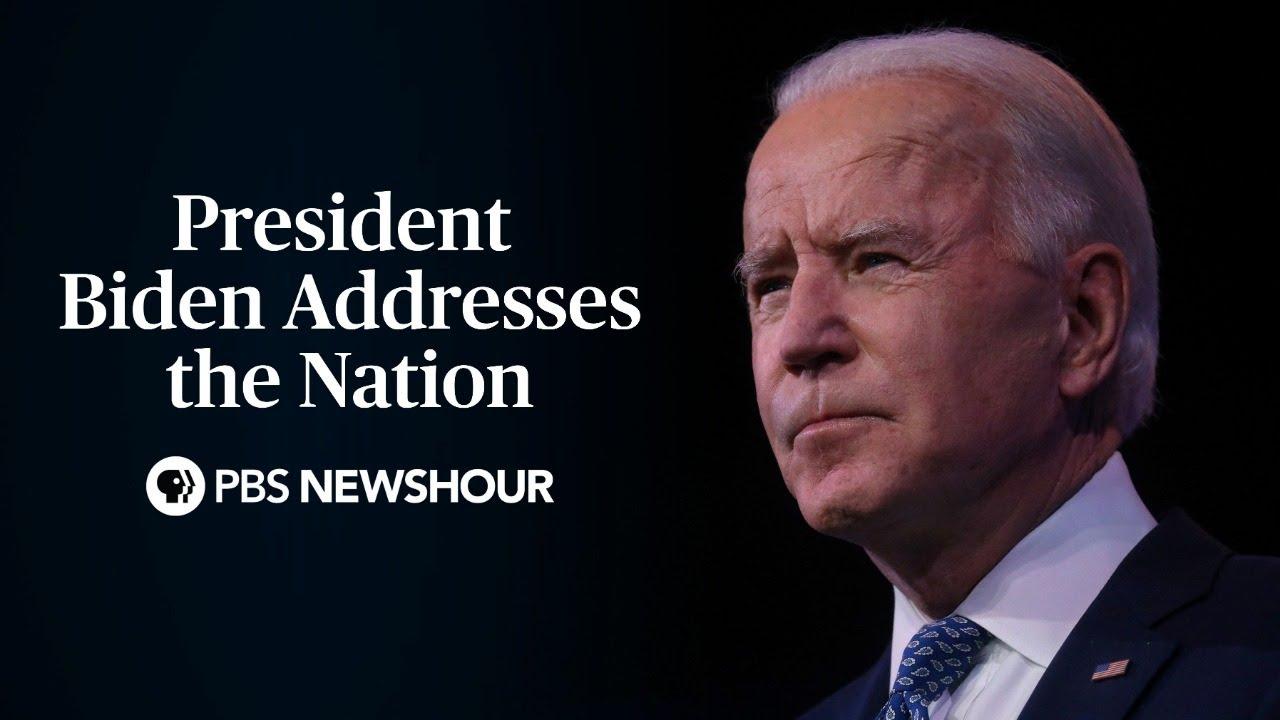 WATCH LIVE: President Biden addresses nation on COVID-19 anniversary