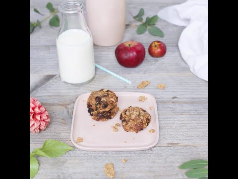 NESTLÉ FITNESSE Recipe: Chocolate'n fruit cookies | Nestlé PH