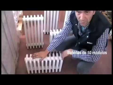 Radiadores hierro fundido youtube - Baneras de hierro fundido ...