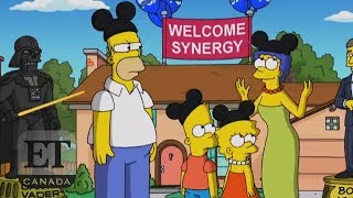 'The Simpsons' Welcome Disney