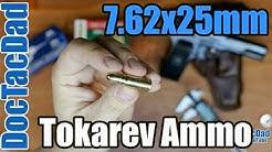 7.62x25mm Tokarev - Ammo Breakdown