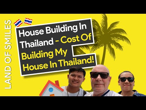 Cost to build my house in Thailand Vlog 0024