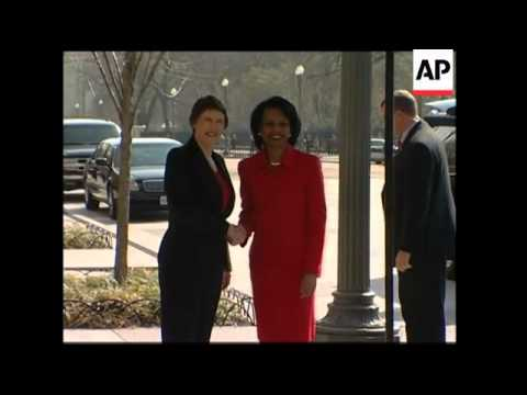 PM Helen Clark meets Condoleezza Rice