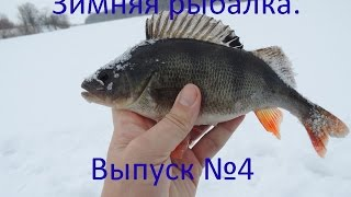 Зимняя рыбалка. Ловля окуня на Иргизе.