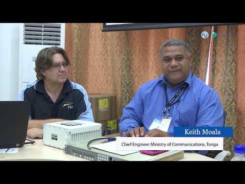 """Interviews: ITU Training Workshop on VSAT Fundamentals and Installation 15 18 May 2017, Port Vila,"""