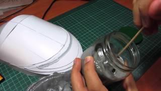 Creación de las hombreras (Segundos pasos) - Shoulder bells (Second steps)