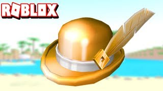 ROBLOX-HOW TO GET THE NEW HAT