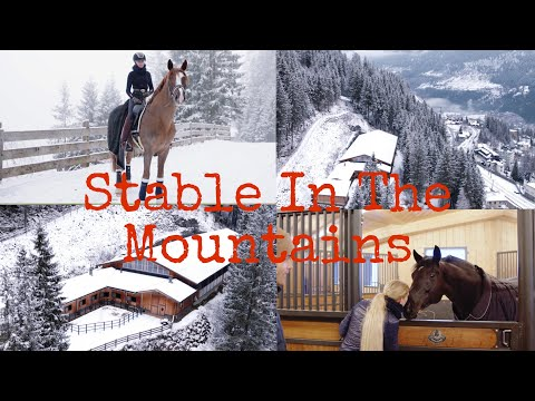 LUXURY STABLE TOURS|| IN THE MOUNTAINS