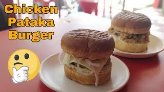 Chicken Pataka Burger | Street Food | Special Burger | Jabalpur | VBO Life | 2018