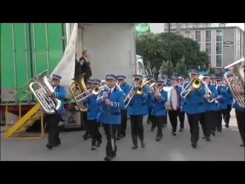 Palmerston North City Brass - 2016 National Brass Band Contest Napier - Street March