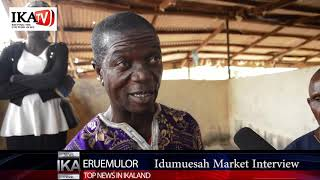 Idumuesah Market Interview come and develop your land