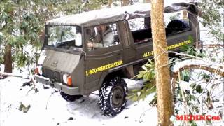 4X4 PINZING ROUND SNOW SMALL CREEK CROSSING.wmv