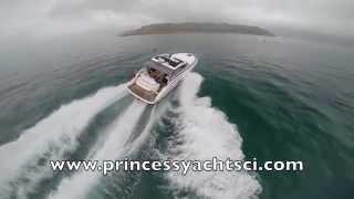 Princess V39. Princess Yachts CI. BY www.eagleeyephotographyjersey.com