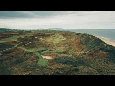 Flyover Tour of Royal Portrush--Site of the 2019 Open Championship | TaylorMade Golf