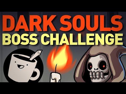 Dark Souls Boss Challenge (ft. Jaiden Animations)