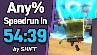 SpongeBob SquarePants: Battle for Bikini Bottom Any% Speedrun in 54:39 (WR on 9/30/2018)