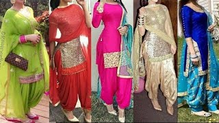 Top Punjabi Suit Designs 2018 || Latest heavy suits Design|| Latest party wear Punjabi Suit Design