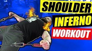 Shoulder Inferno Workout | Feel The Burn 🔥