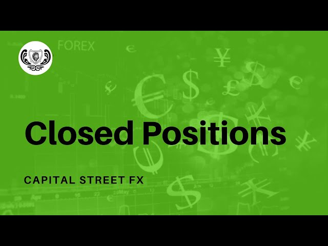Closed Positions In Desktop Trader | Capital Street Fx