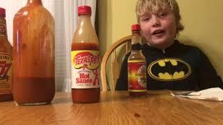 Prt 2 of the hot Sauce challenge