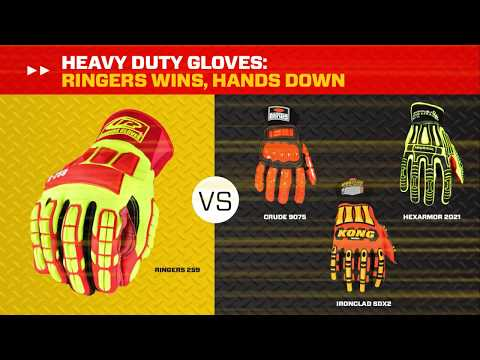 Ringers Gloves Dexterity And Impact Protection Glove Study