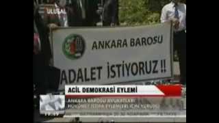 """Ankara Barosu """"Acil Demokrasi"""" Çağrısı Yaptı"""