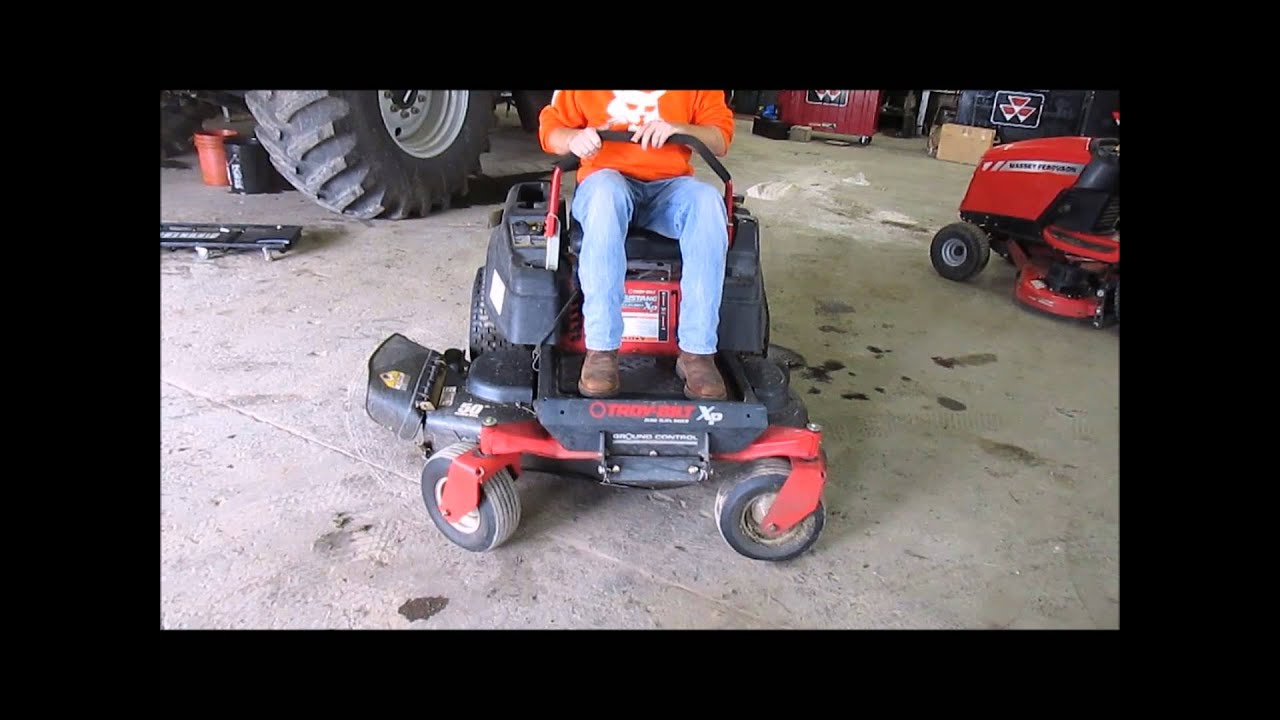2014 Mustang For Sale >> Troy-Bilt ZTRXP50 Mustang ZTR riding lawn mower for sale | sold at auction October 1, 2014 - YouTube