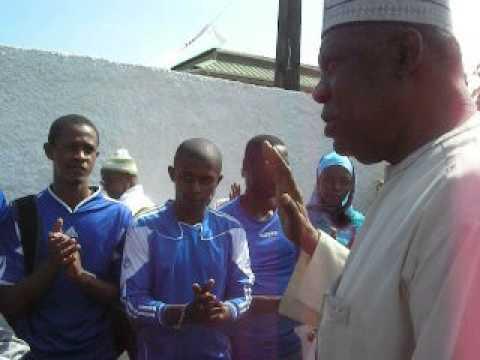 Issa Hayatou aux Comores...
