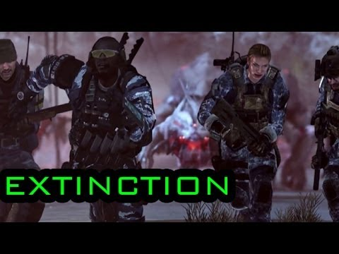 Call Of Duty Ghosts: Extinction Aliens Mode 30 Minutes