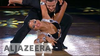 Competitive ballroom dancing in Turkmenistan struggles to find audience